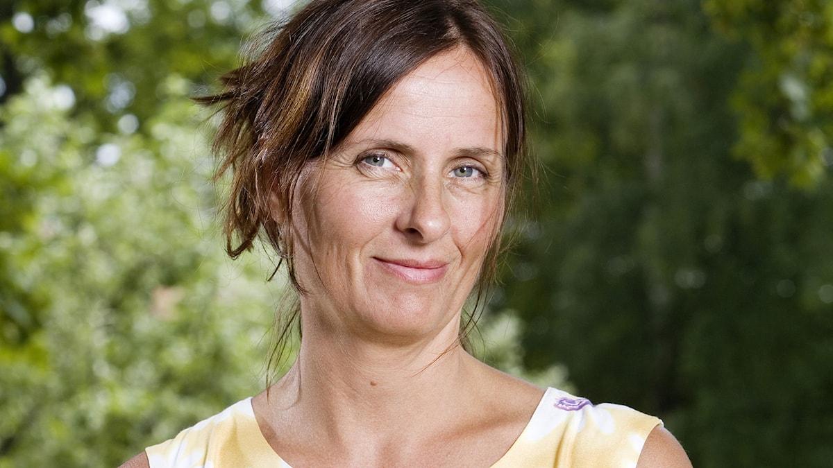 Susanna Alakoski. Foto: Mattias Ahlm/SR