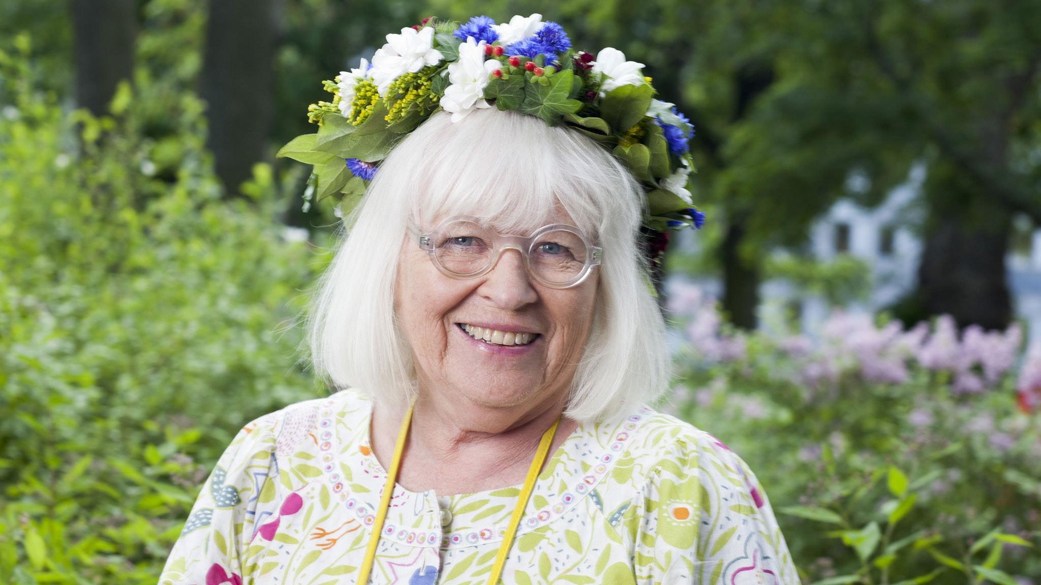 Gudrun Sjödén foto: Mattias Ahlm/Sveriges Radio