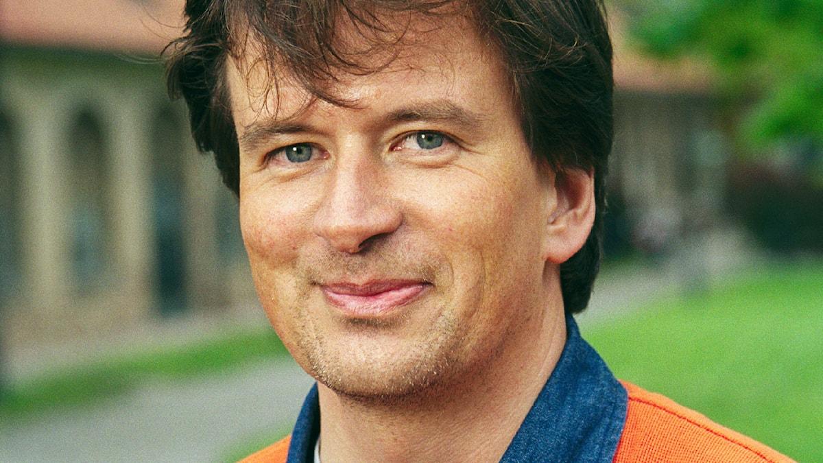 Kjell Westö 2001. Foto: Sveriges Radio