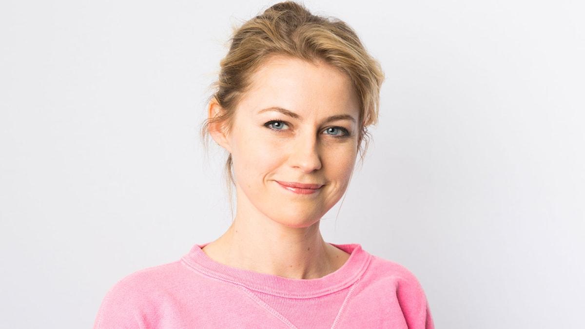 Edda Magnasson. Foto: Mattias Ahlm/Sveriges Radio