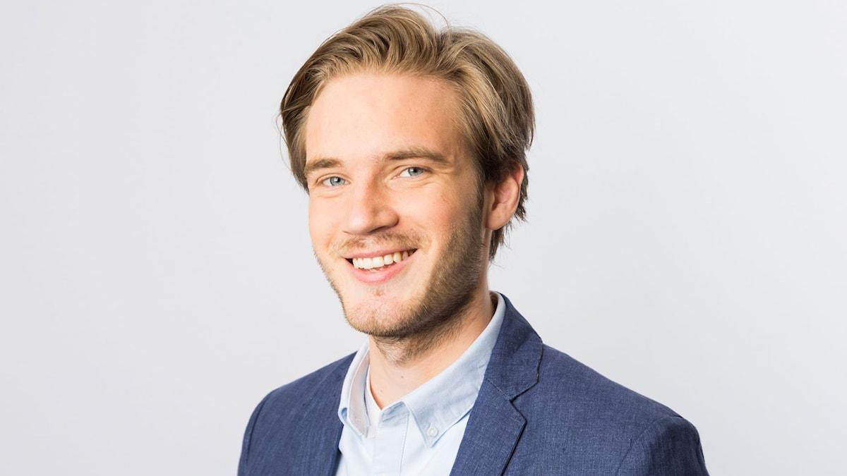 "Felix ""PewDiePie"" Kjellberg. Foto: Mattias Ahlm/Sveriges Radio"
