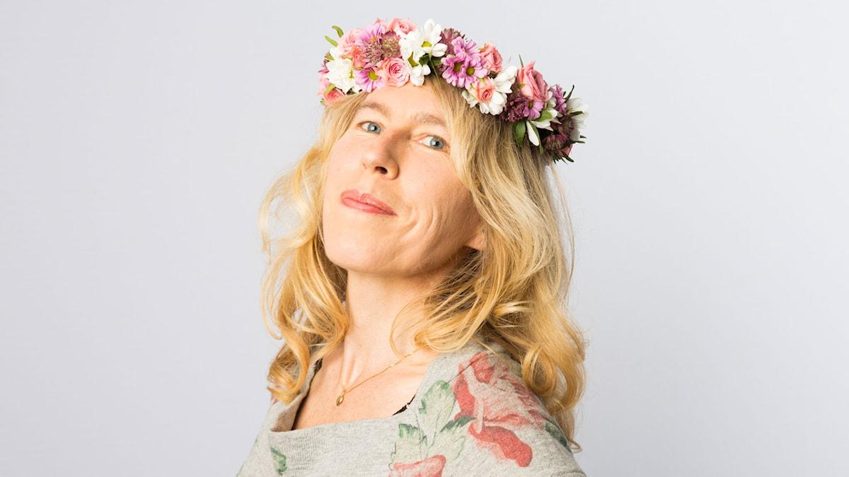 Therése Söderlind. Foto: Mattias Ahlm/Sveriges Radio