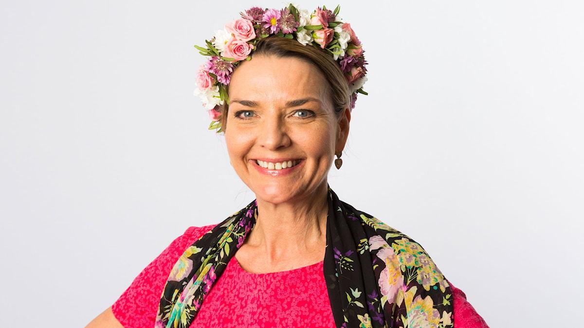 Monika Ahlberg. Foto: Mattias Ahlm/Sveriges Radio