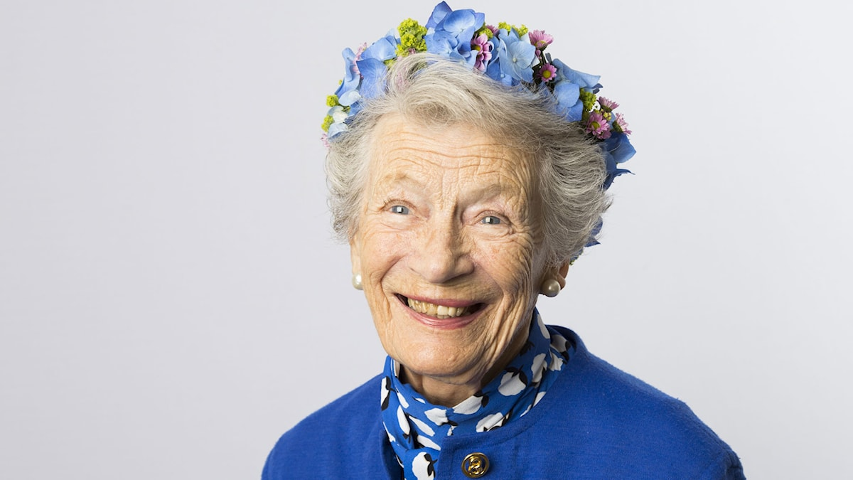Nina Lagergren. Foto: Mattias Ahlm/SR