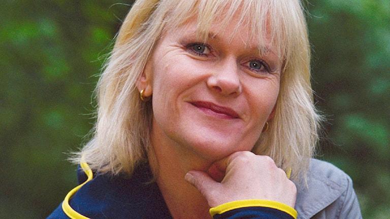 Sissela Kyle, Sommar 2000. Foto: Sveriges Radio