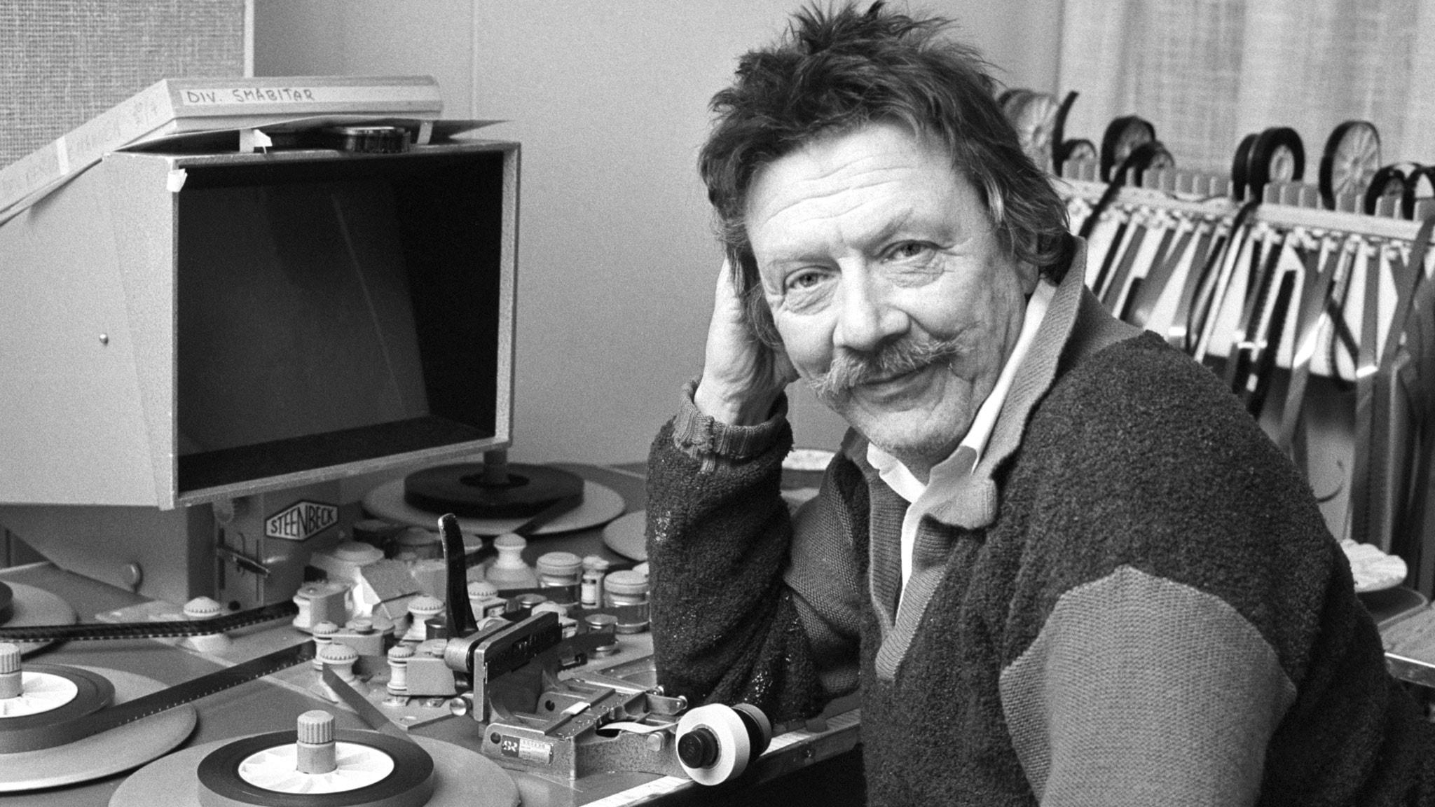 Allan Edwall. Foto: Sveriges Radio