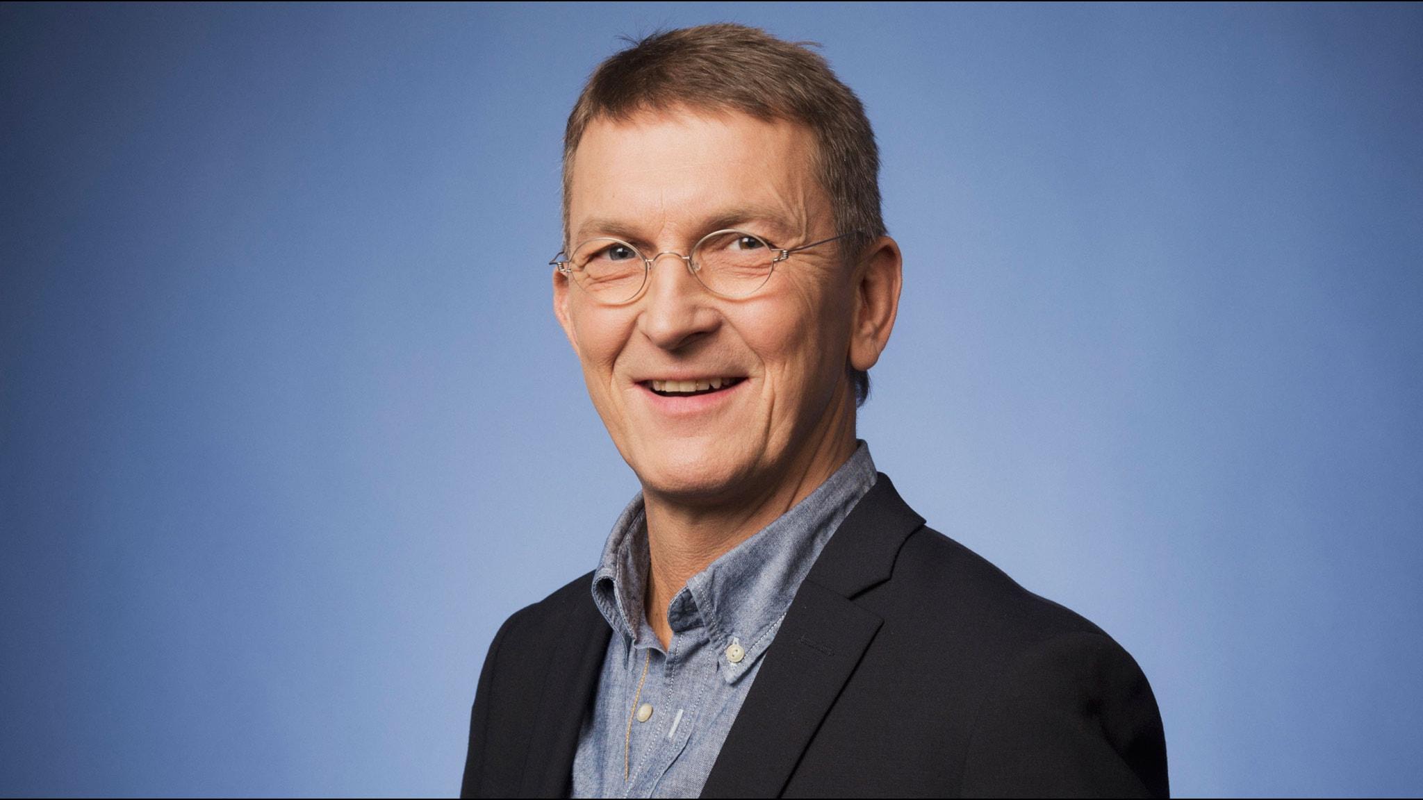 Tomas Sjödin. Foto: Mattias Ahlm/Sveriges Radio (från Vinter 2013)
