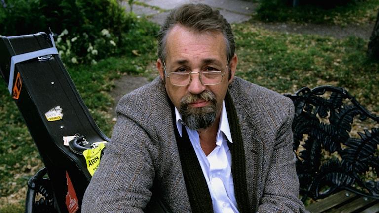 Cornelis Vreeswijk. Foto: SVT Bild (troligtvis från 1986)