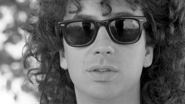 Magnus Uggla 1986. Foto: Anders Roth/Sveriges Radio