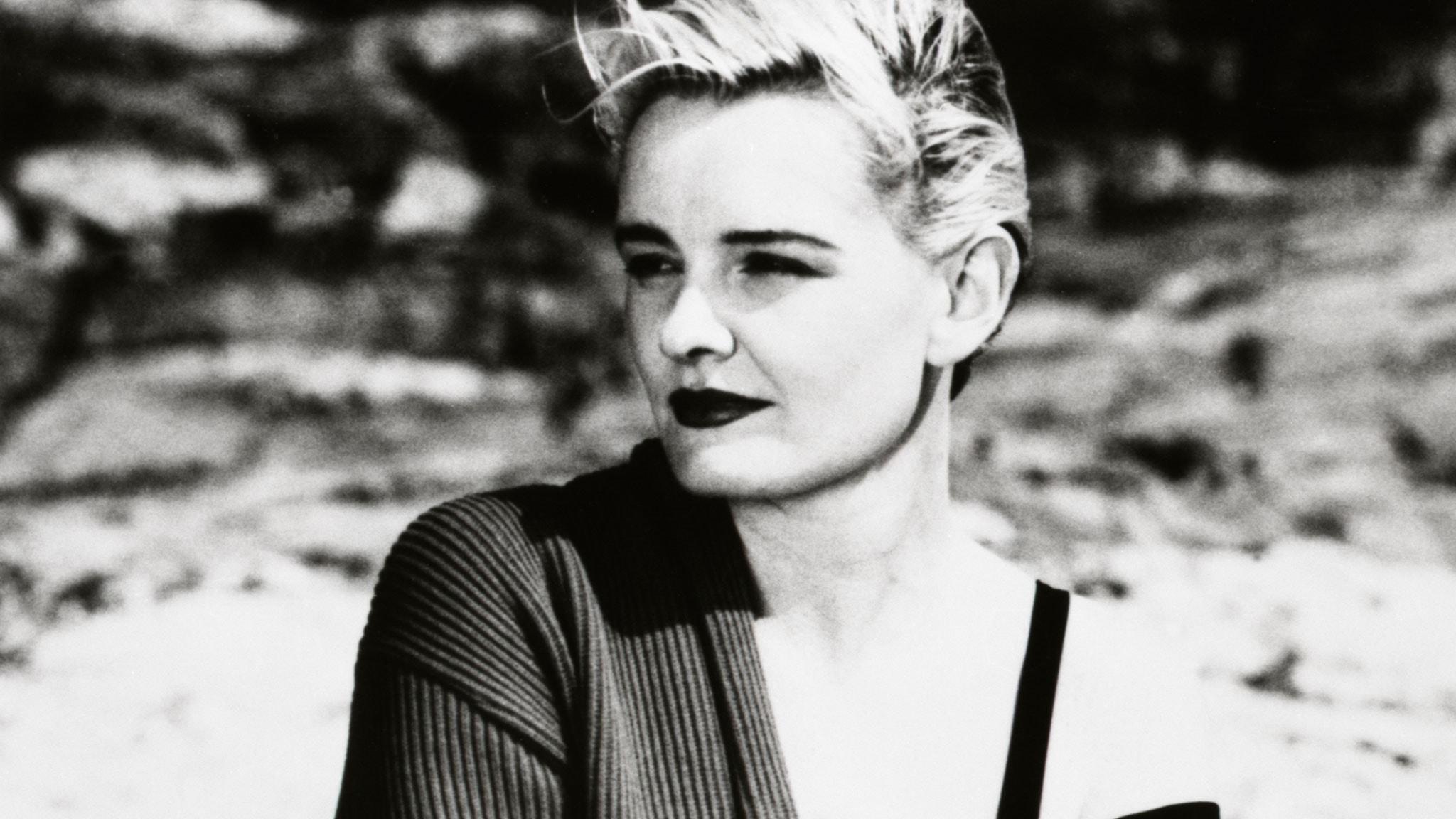 Eva Dahlgren 1991. Foto: Christer Jansson/Sveriges Radio