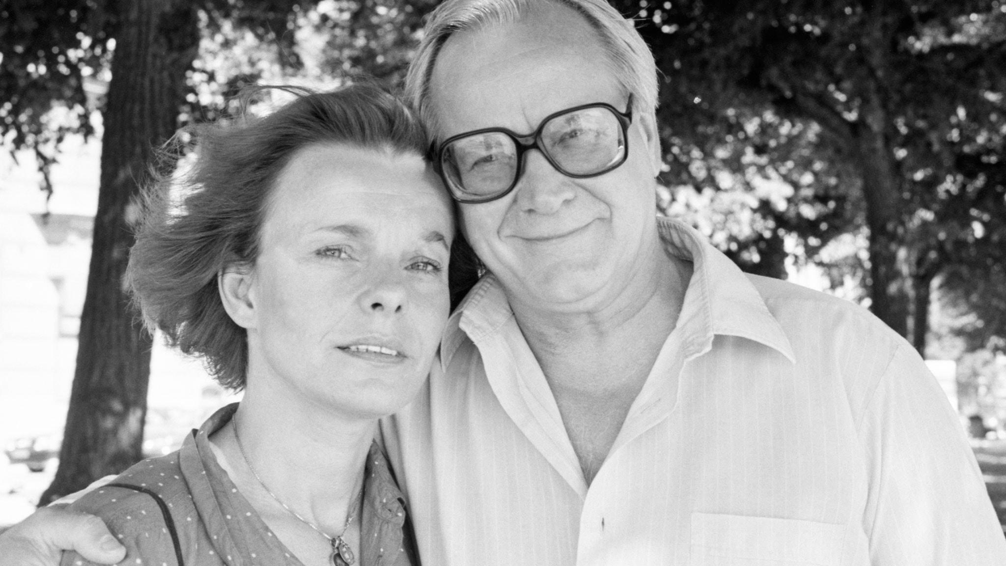 Jan Malmsjö: Marie Göranzon Och Jan Malmsjö 1986 2 Augusti 1986 Kl 13