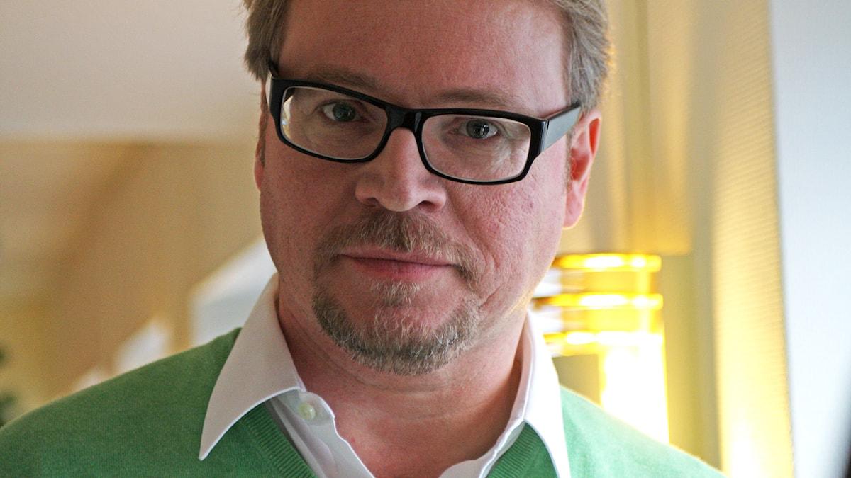 Fredrik Lindström. Foto: Sveriges Radio
