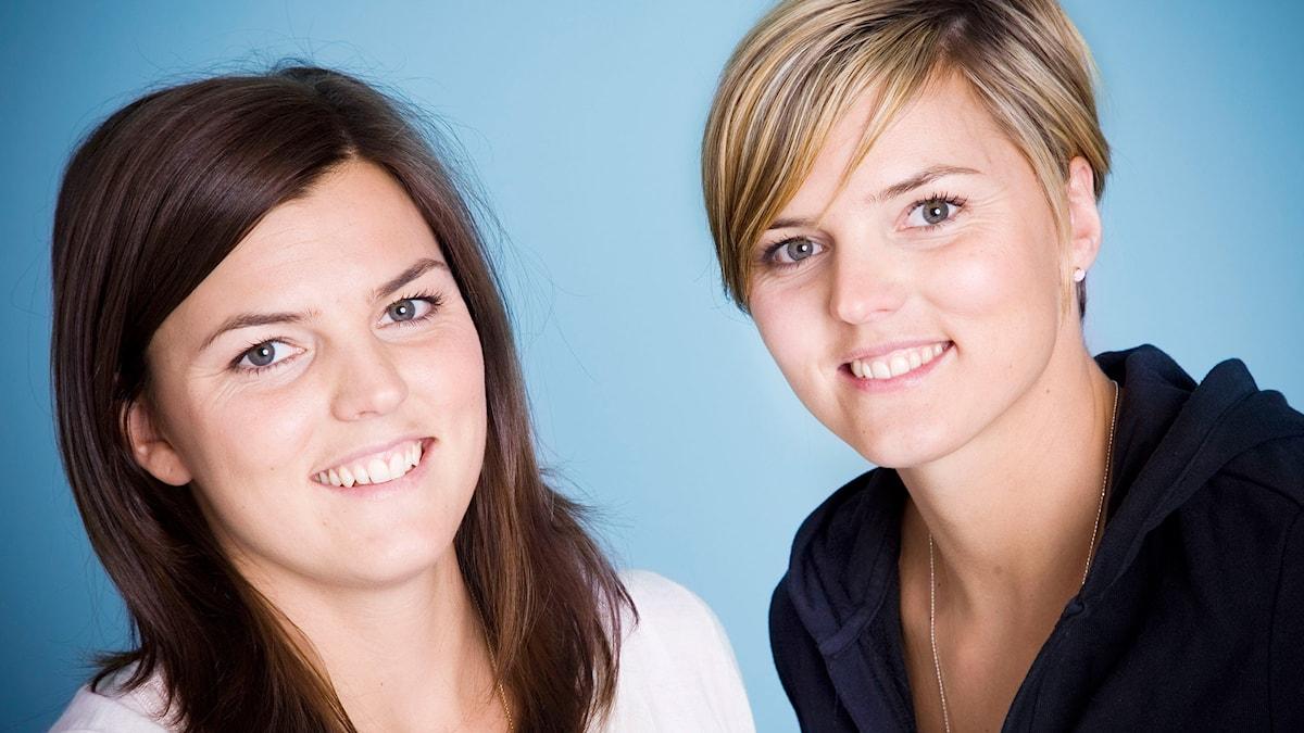 Jenny och Susanna Kallur. Foto: Mattias Ahlm/Sveriges Radio