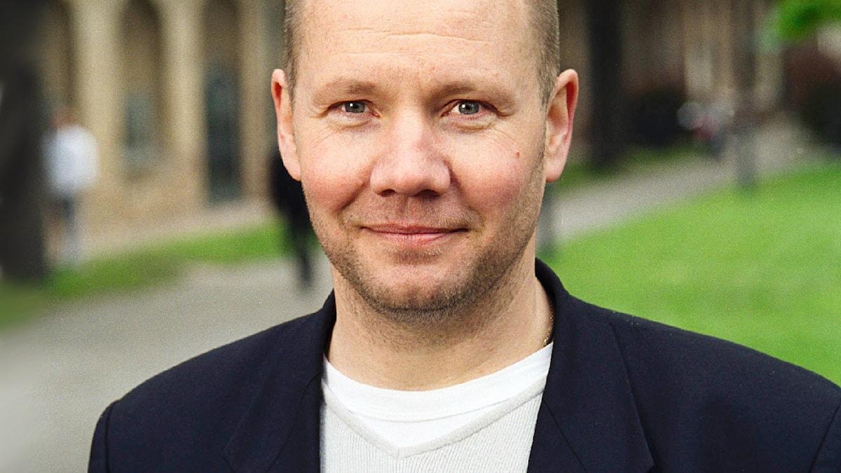 Peter Englund 2001. Foto: Sveriges Radio
