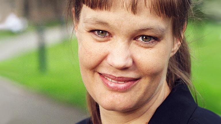 Nina Björk 2001. Foto : Sveriges Radio