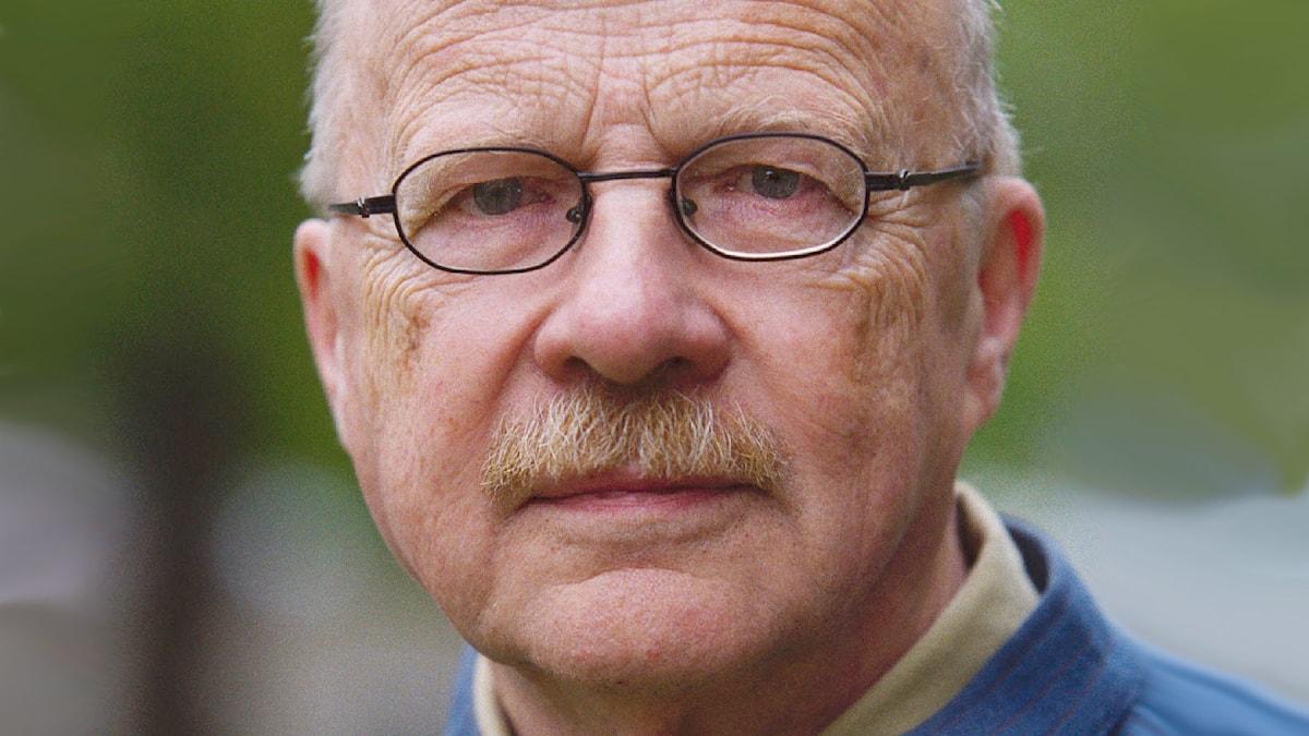 Jan Myrdal 2000. Foto: Sveriges Radio.