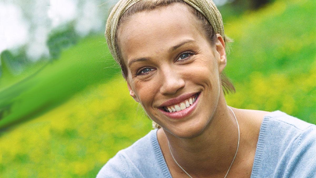Emma Sjöberg 2001. Foto: Sveriges Radio