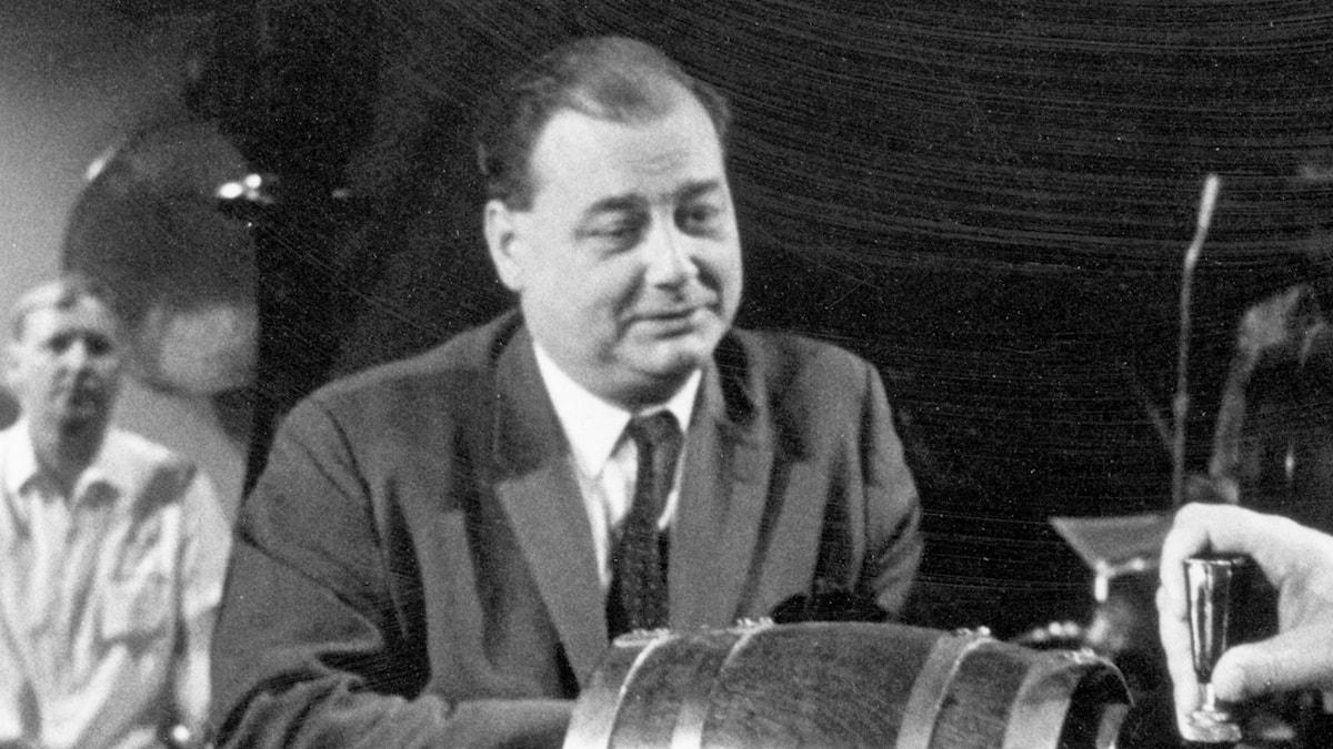 Torsten Ehrenmark 1960-tal. Foto: SVT Bild.