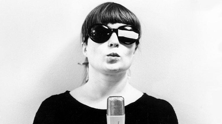 Britt Edwall 1967. Foto: SVT Bild