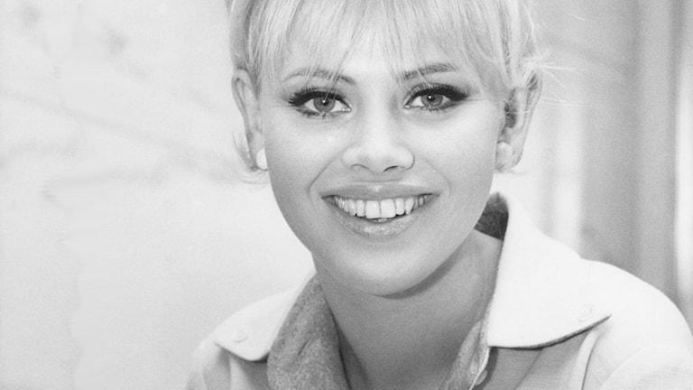 Britt Ekman år 1964. Foto: SVT Bild.