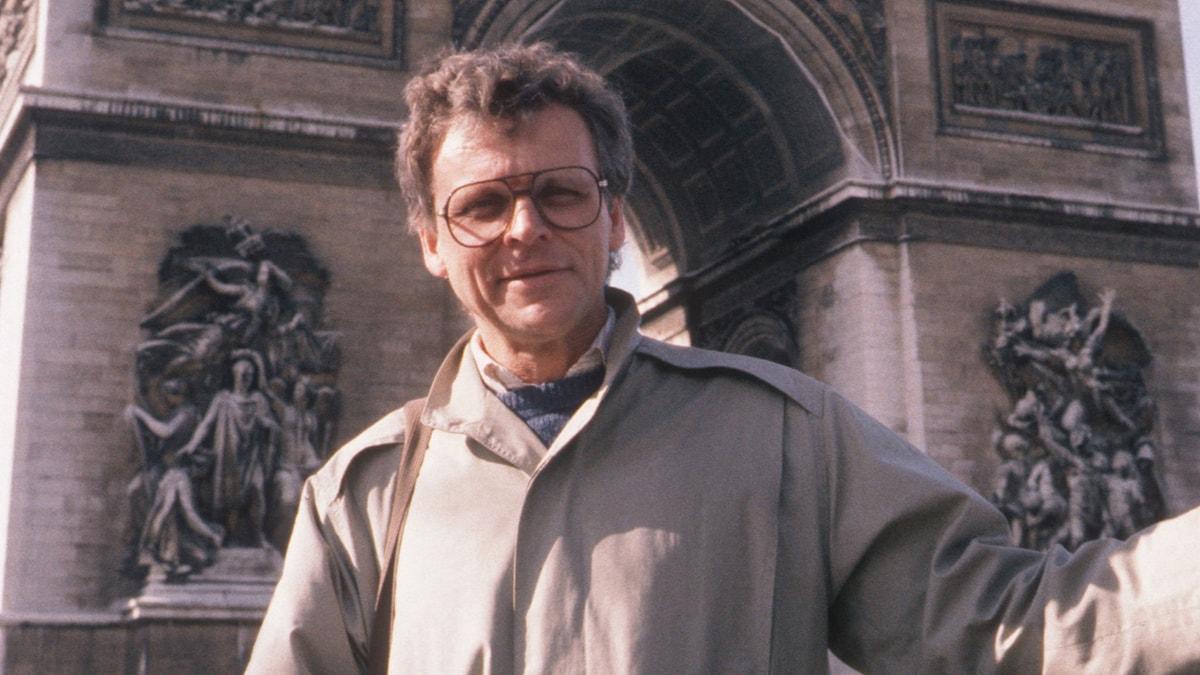 Herman Lindqvist 1986. Foto: SVT Bild.