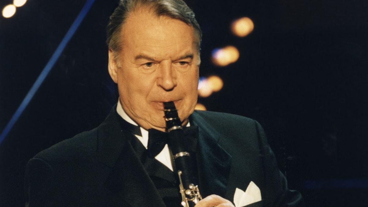 Putte Wickman. Foto: SVT Bild (från 1990-talet).