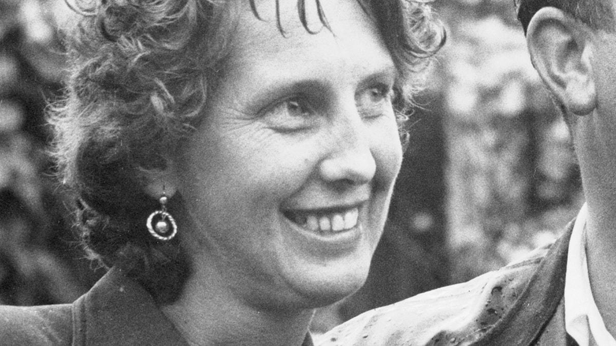 Ulla Trenter. Foto: SVT Bild (från 1950-talet).