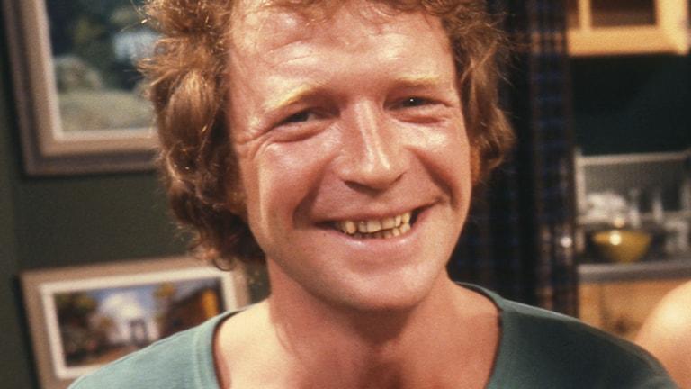Brasse Brännström. Foto: SVT Bild (från 1978).