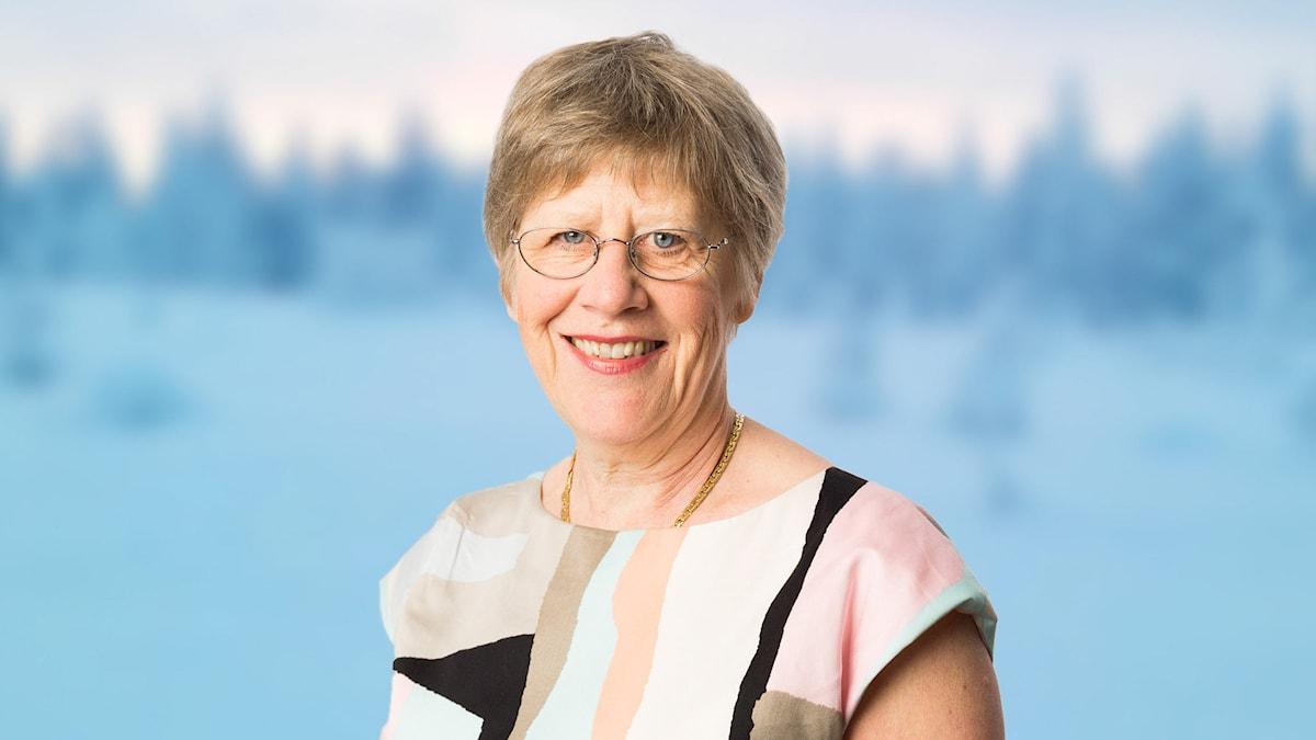 Agnes Wold. Foto: Sveriges Radio