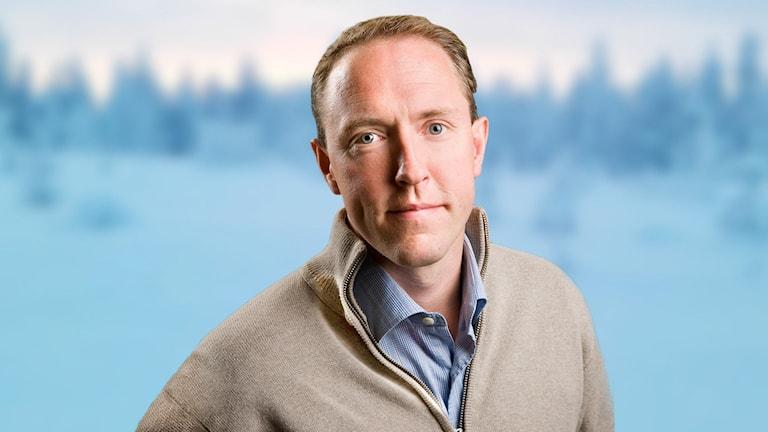 Mattias Klum. Foto: Sveriges Radio