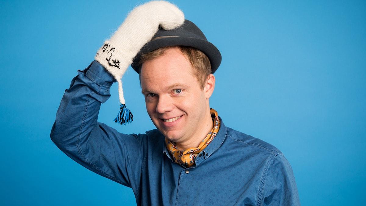 Olof Wretling - Vinter 2014. Foto: Mattias Ahlm/Sveriges Radio