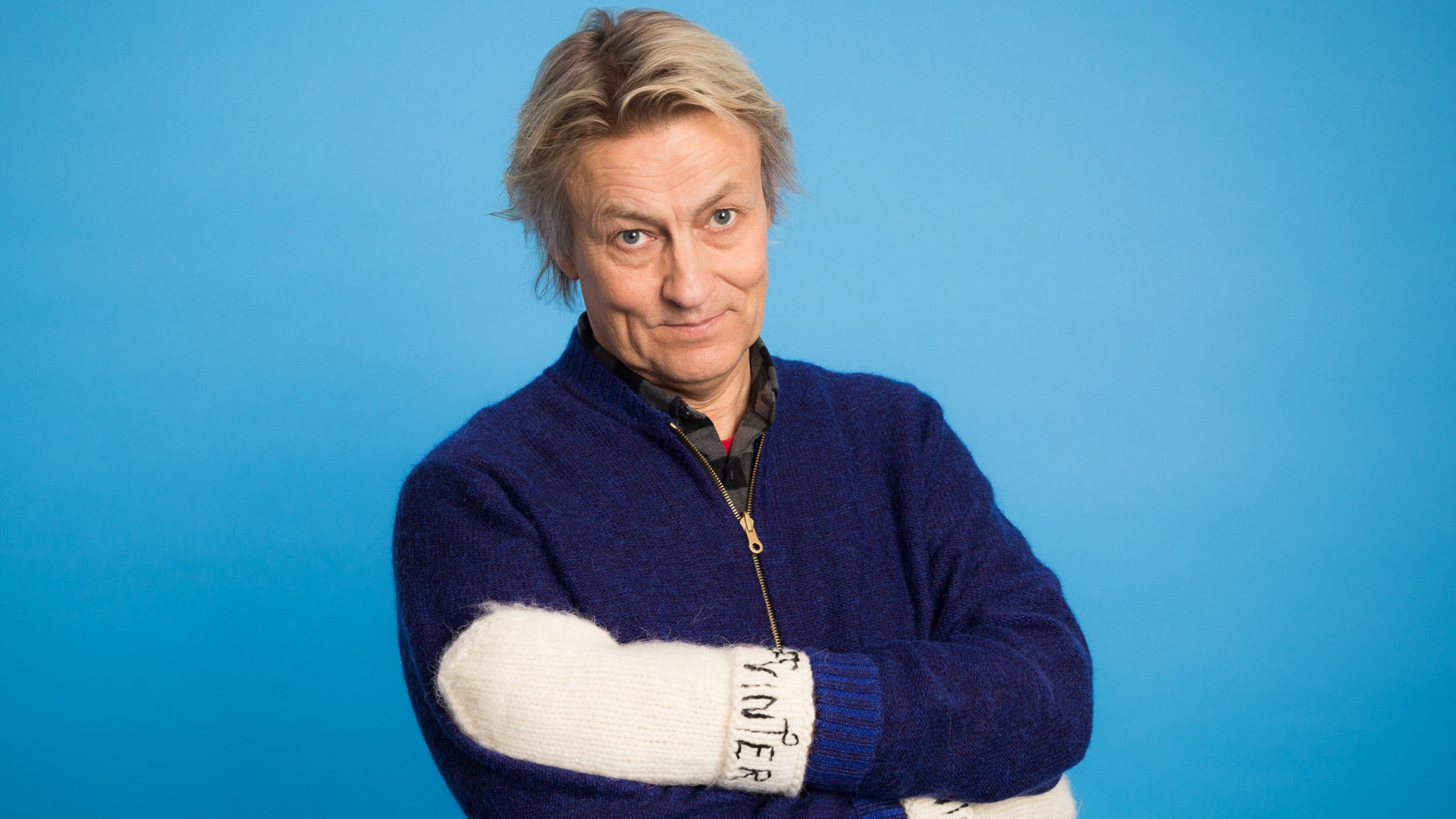 Lars Lerin - Vinter 2014. Foto: Mattias Ahlm/Sveriges Radio