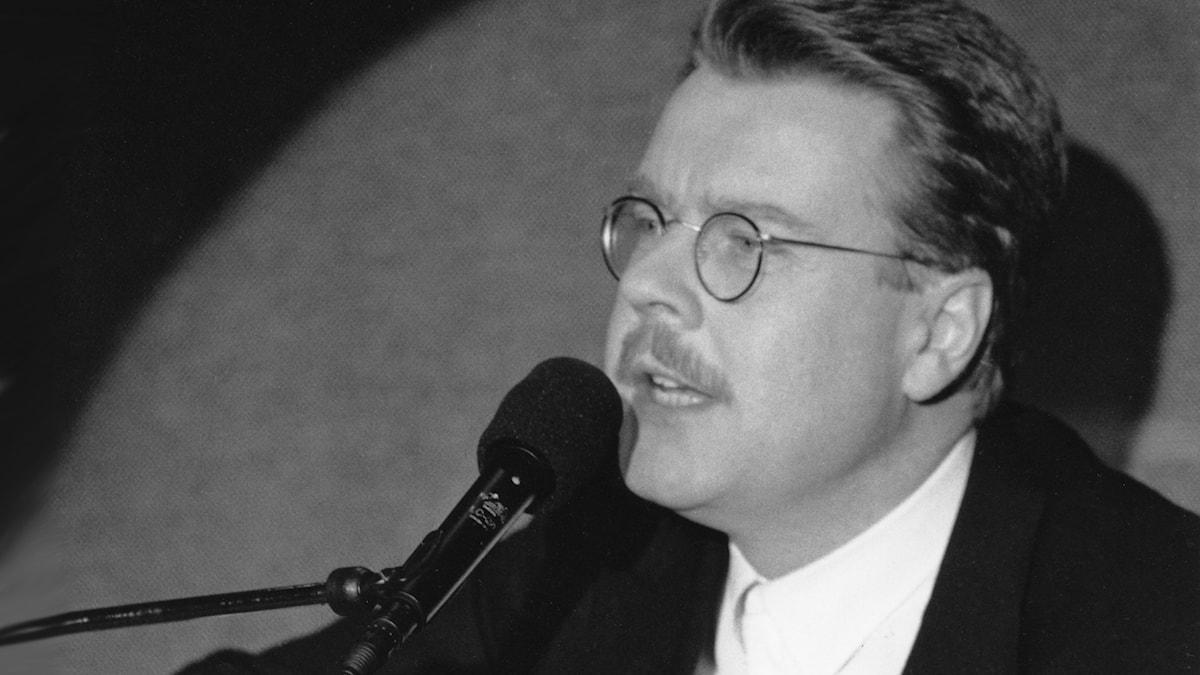 Mikael Wiehe 1989. Foto: SVT Bild