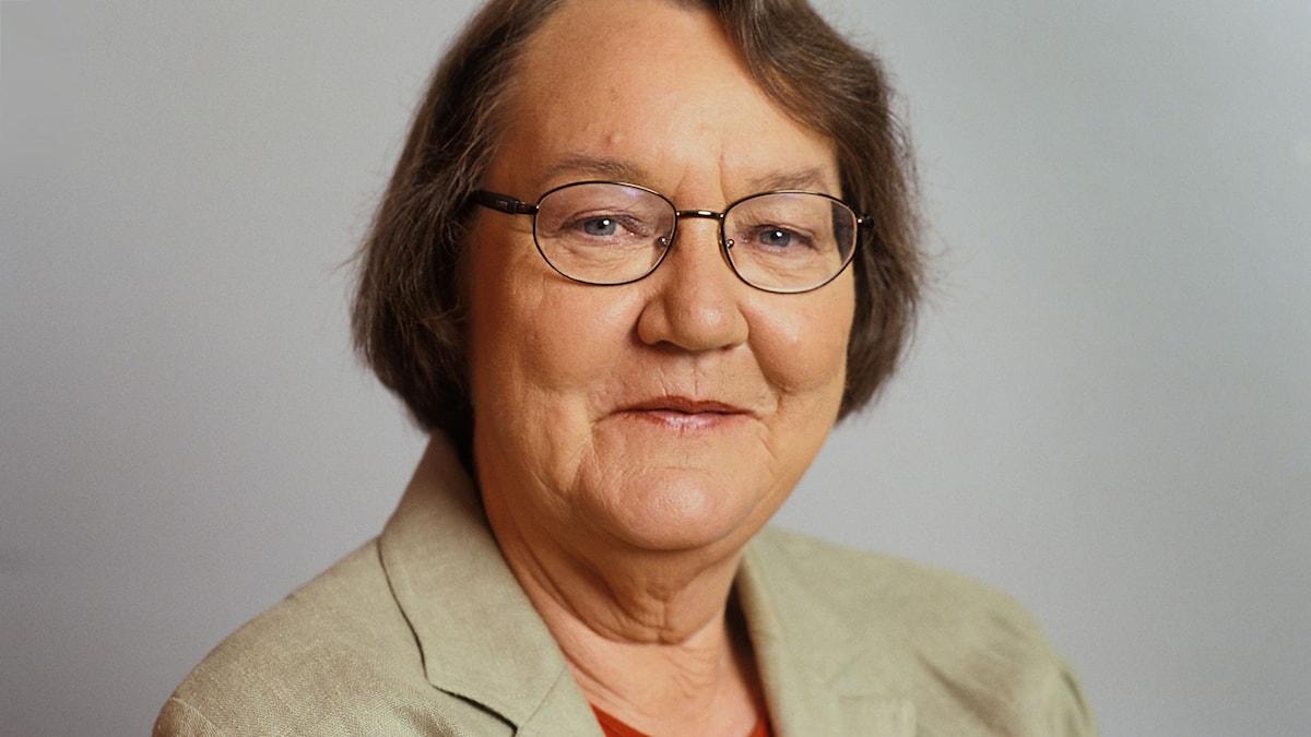 Marit Paulen 1999. Foto: Sveriges Radio