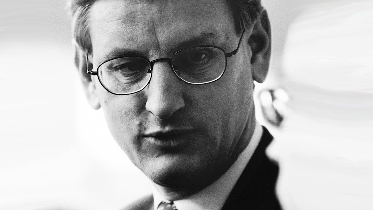 Carl Bildt 1999. Foto: SVT Bild 1999