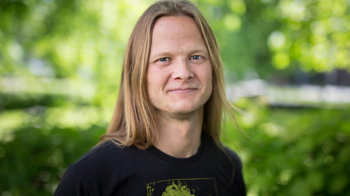 Herman Geijer. Foto: Mattias Ahlm /Sveriges Radio.