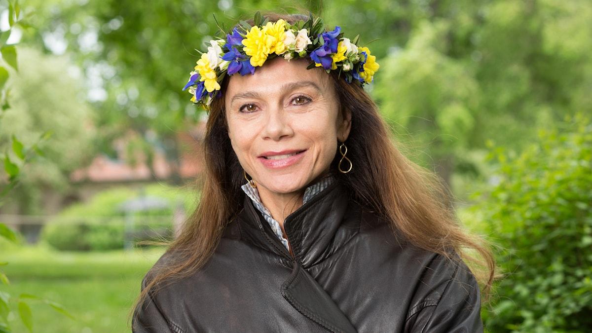 Lena Olin. Foto: Mattias Ahlm/Sveriges Radio