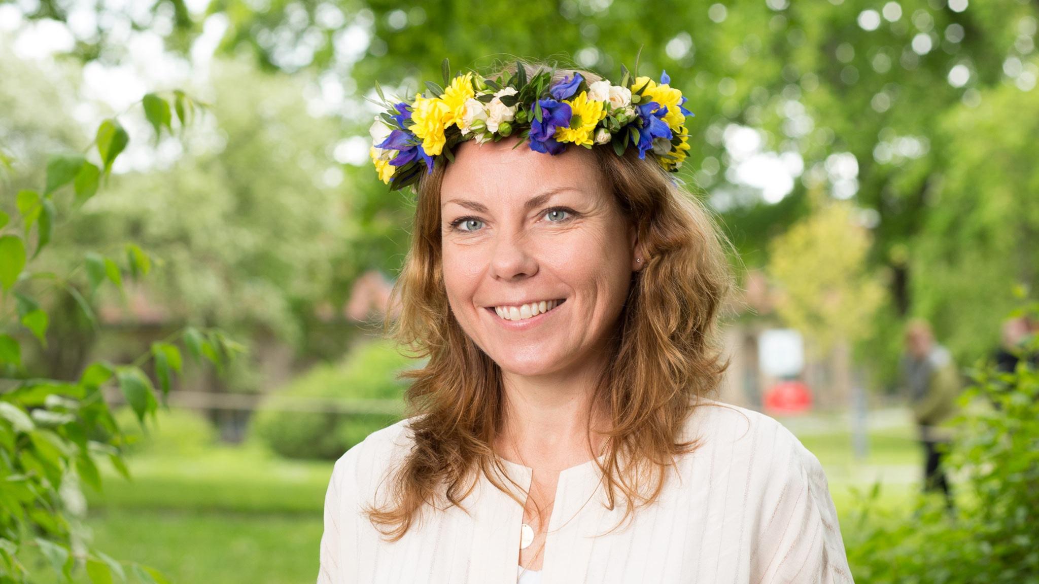 Terese Cristiansson. Foto: Mattias Ahlm /Sveriges Radio
