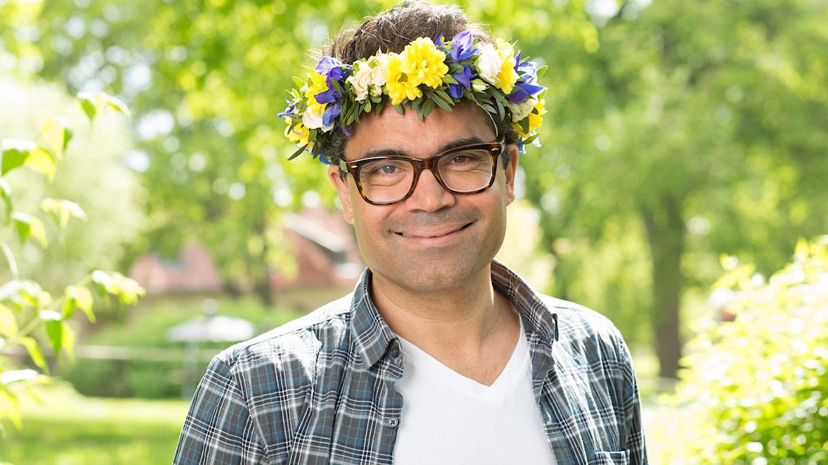 David Batra. Foto: Mattias Ahlm/Sveriges Radio