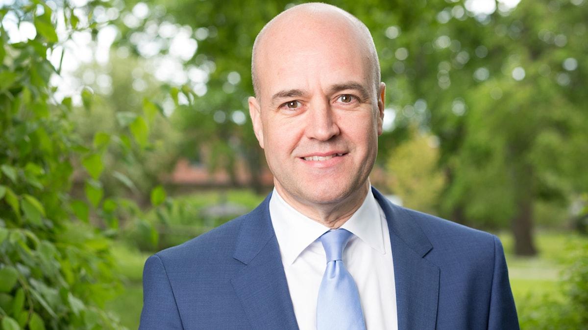 Fredrik Reinfeldt. Foto: Mattias Ahlm/Sveriges Radio