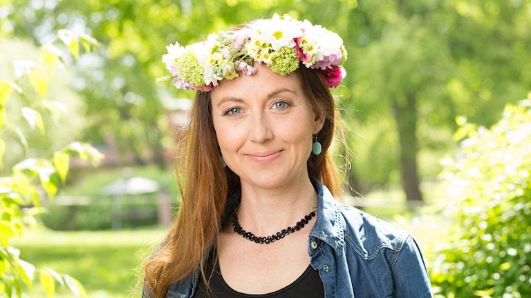 Sanna Lundell. Foto: Mattias Ahlm/Sveriges Radio
