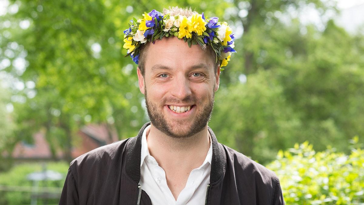 Robin Paulsson. Foto: Mattias Ahlm/Sveriges Radio