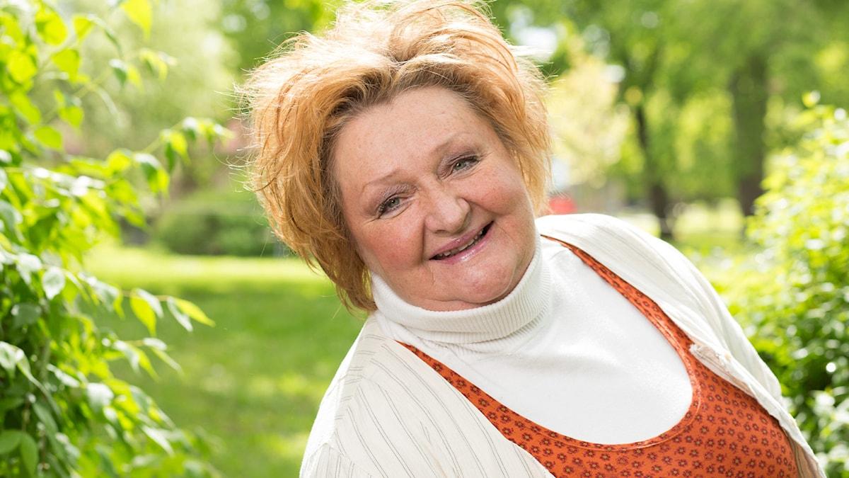 Marianne Mörck. Foto: Mattias Ahlm/Sveriges Radio