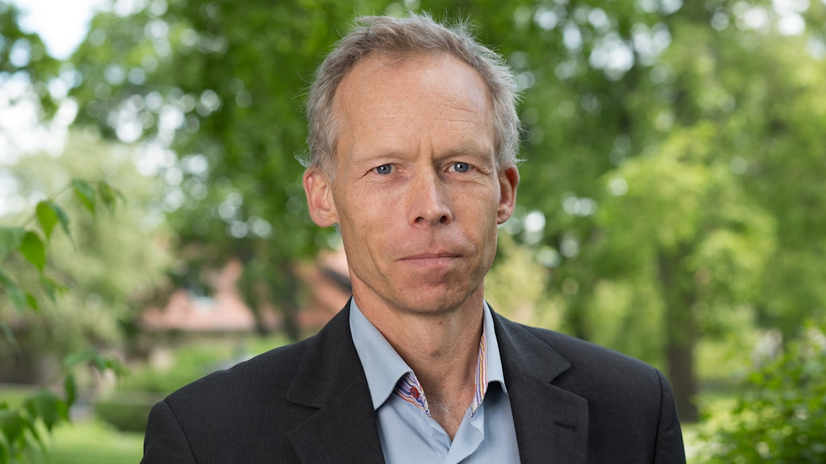 Johan Rockström. Foto: Mattias Ahlm/Sveriges Radio