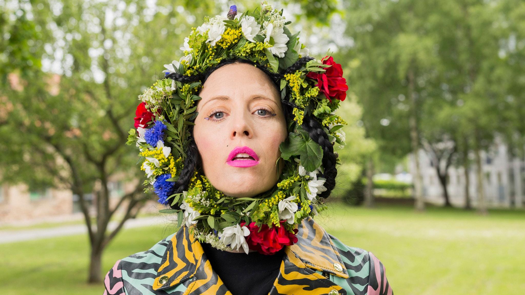 Bea Åkerlund. Foto: Mattias Ahlm/Sveriges Radio