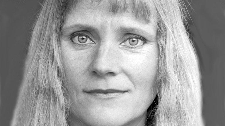 UllaSkoog 1989. Foto: Sveriges Radio