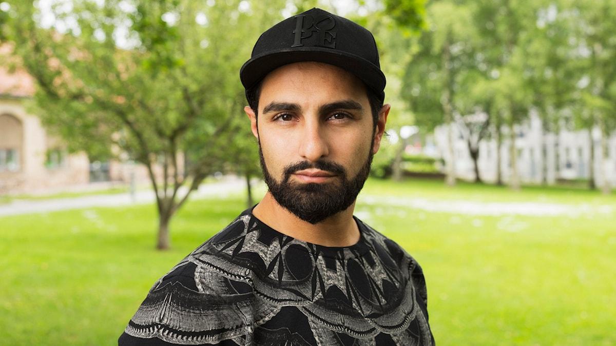 """Arash """"Ash"""" Pournouri. Foto: Mattias Ahlm/Sveriges Radio"""