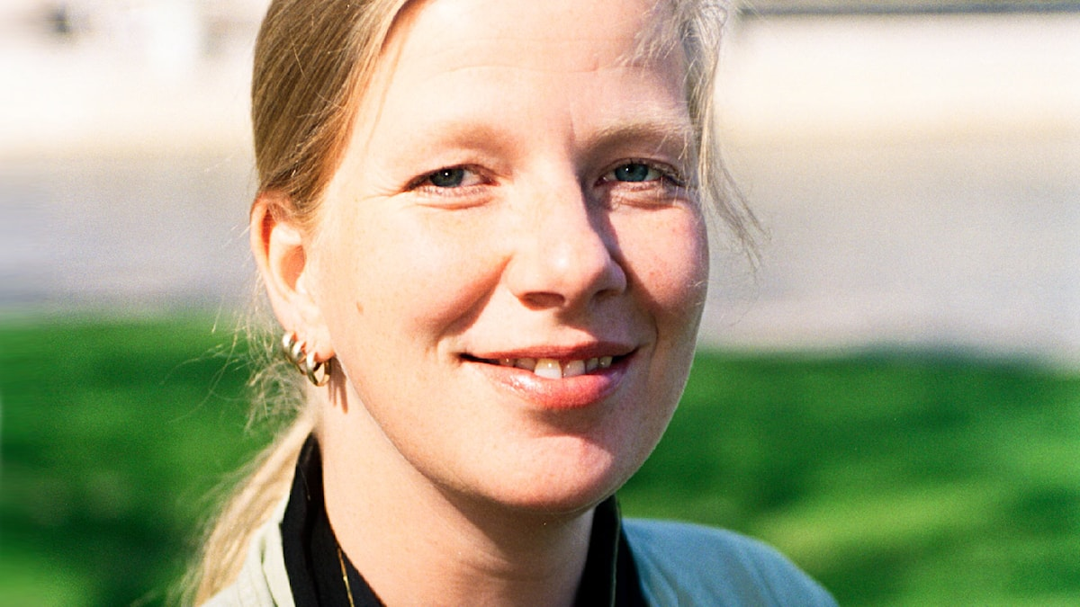 Kristina Axén Olin. Foto: Sveriges Radio