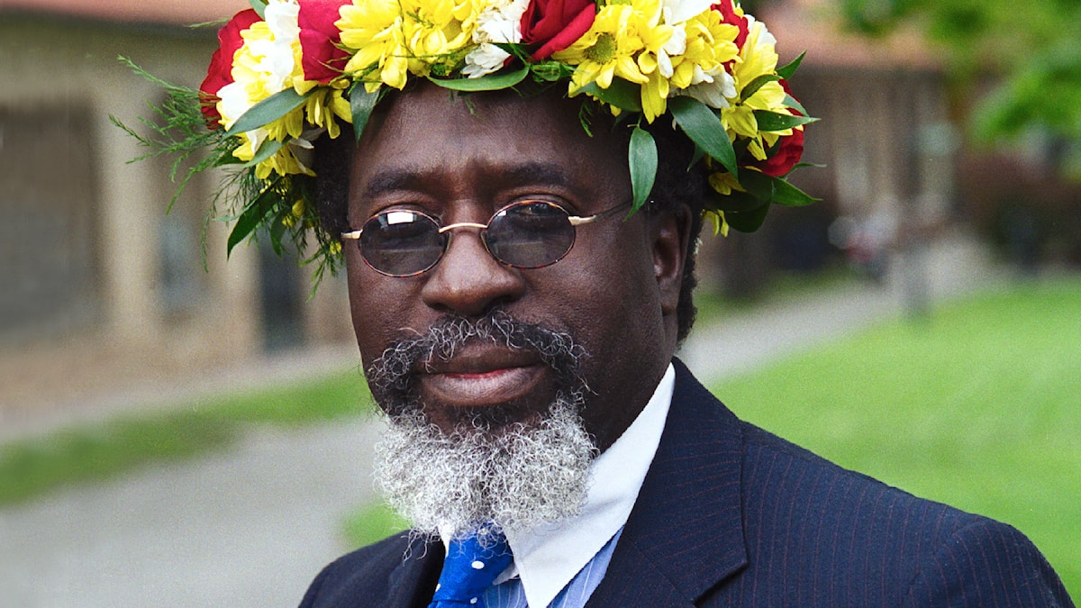 Diabaté Dialy Mory. Foto: Sveriges Radio.