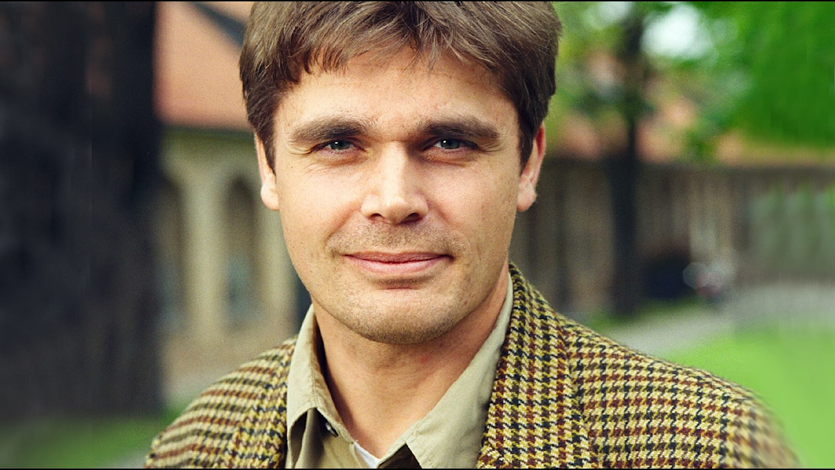 Richard Holmgren. Foto: Sveriges Radio